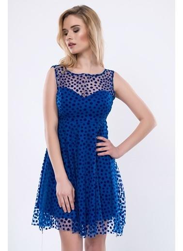 İroni Elbise Saks
